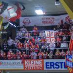 Trotz einer 2:3-Heimniederlage gegen die Vienna Capitals fixierte der EC-KAC die Playoffs